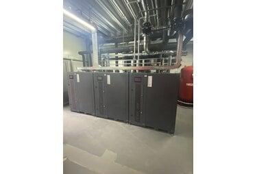 Проектирование и монтаж системы отопления и кондиционирования для дилерского центра John Deere