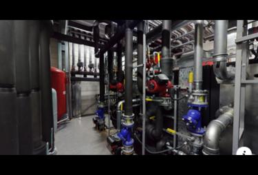 3D тур діючої котельні в сервісному центрі John DEERE